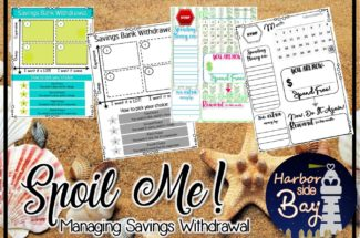 Saving and Savings Withdrawal Printable