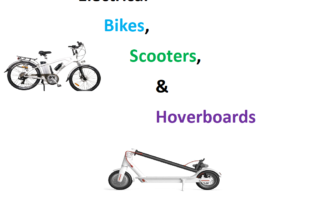 Lesson Plan – Electrical Bikes, Scooters, Hoverboards