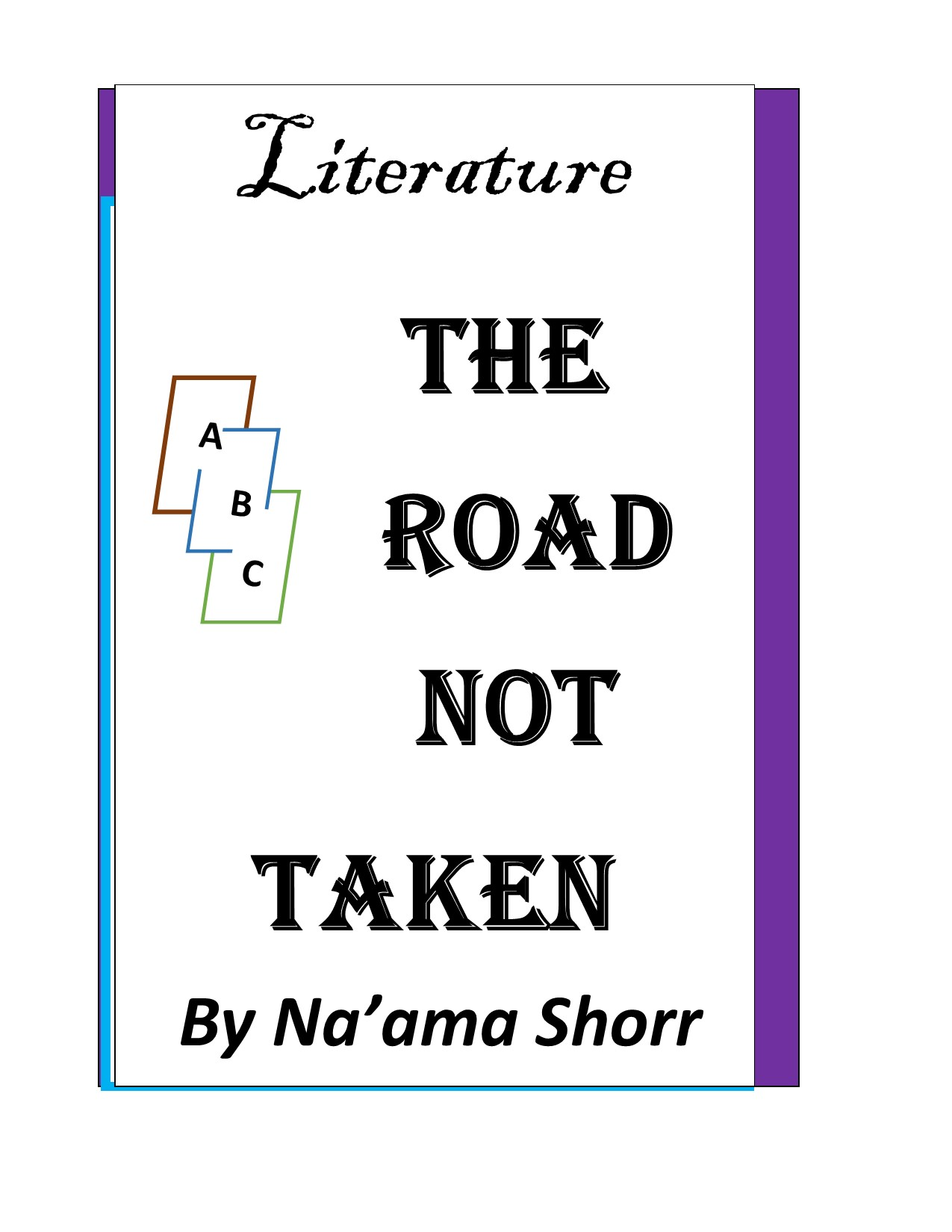 road not taken lesson plan Grade: 7 unit title: the choices we make lesson plan: 01 lesson overview this lesson focuses on a close reading of the poem, the road not taken by robert frost student analysis of the poem establishes a personal connection to the concept of choice.